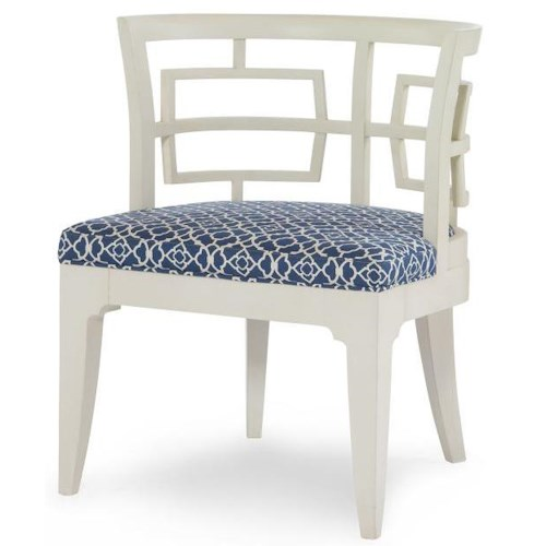 Century Century Chair Mia Wood Chair w/ Upholstered Seat