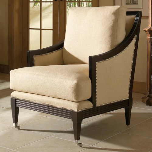 Century Century Chair Casual Century Metro Chair with Contemporary Coastal Theme