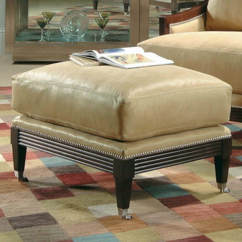 Century Century Chair Sleek Ottoman