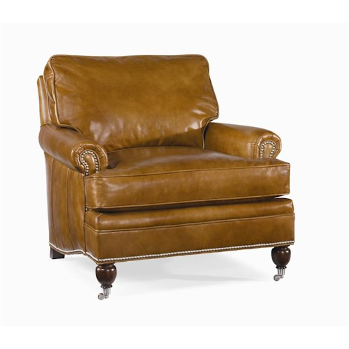 Century Century Leather Customizable Essex Chair