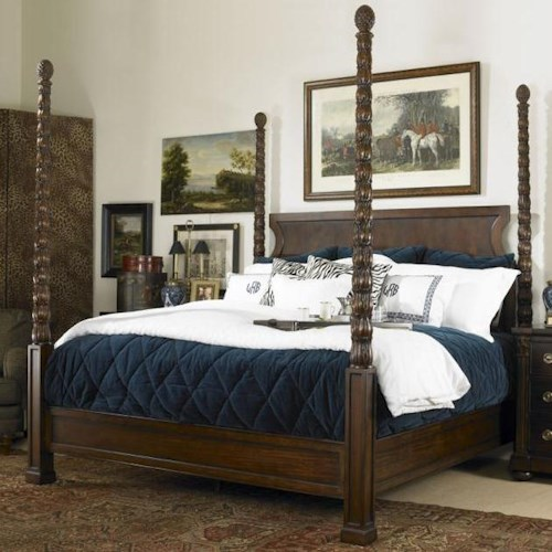 Century Chelsea Club California King Poster Bed