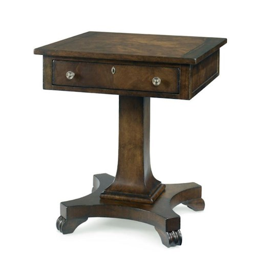 Century Chelsea Club Derby Lamp Table