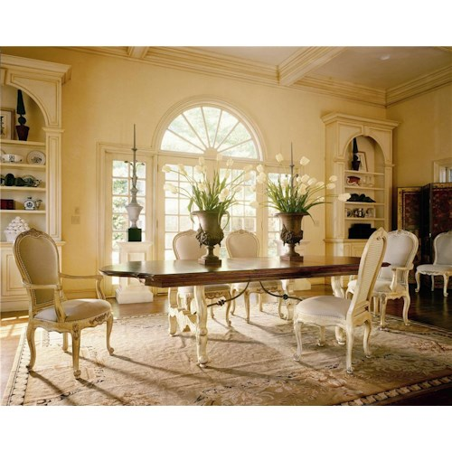 Century Coeur De France Rhone Valley Dining Table