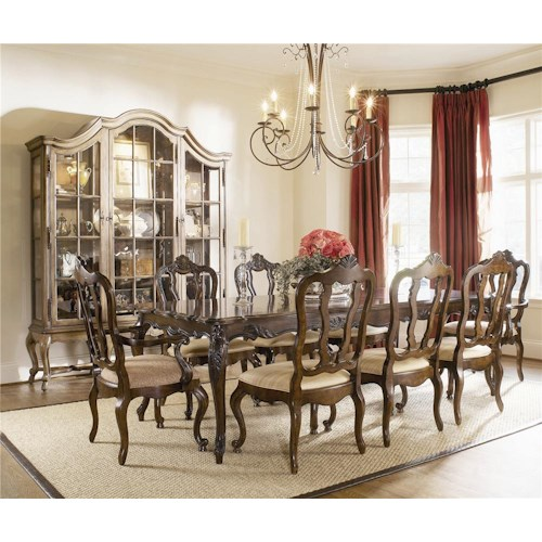 Century Coeur De France Costellane Dining Table