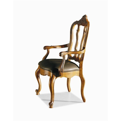 Century Coeur De France Martel Arm Chair