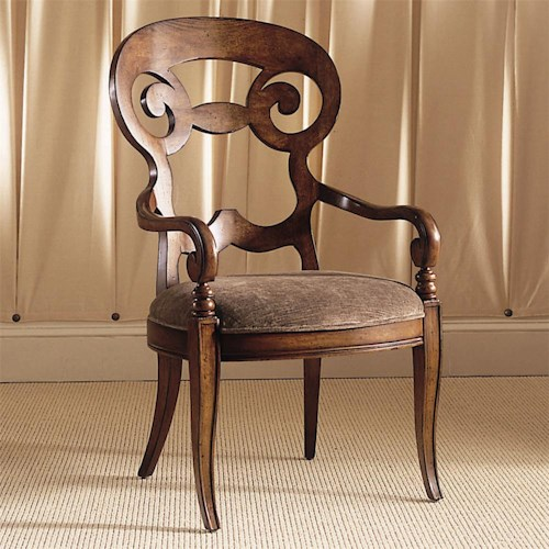 Century Consulate Vienna Dining Arm Chair