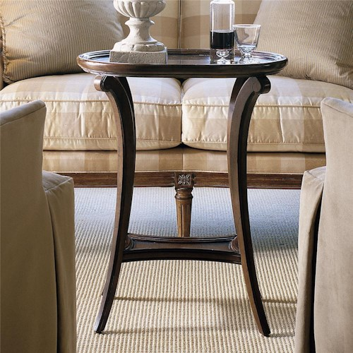 Century Consulate Vouvray Chairside Table