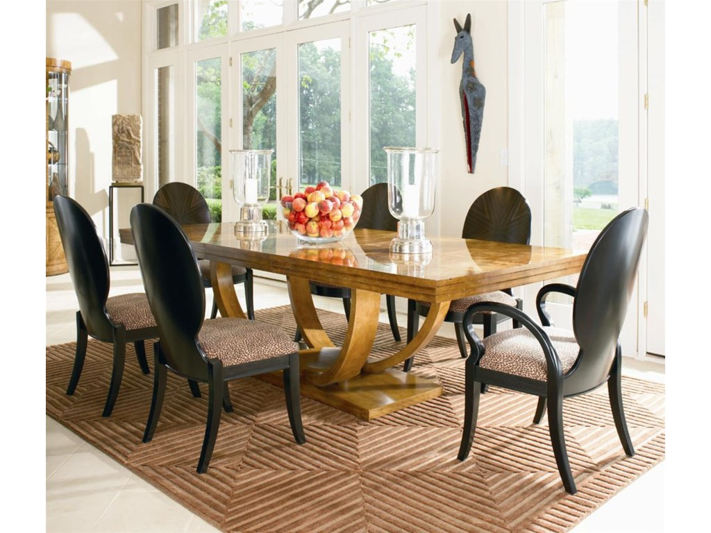 Shown as Set with Dining Table and Four Side Chairs.