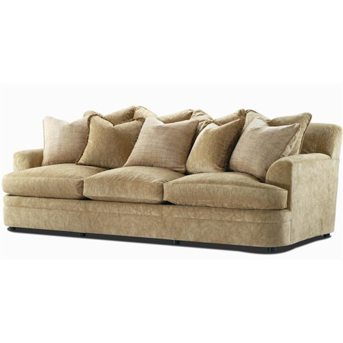 Century Elegance  Multi-Pillow Back Stationary Sofa