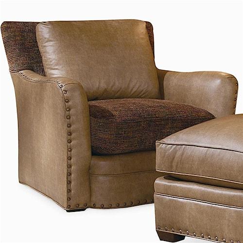 Century Elegance Upholstered Swivel Chair