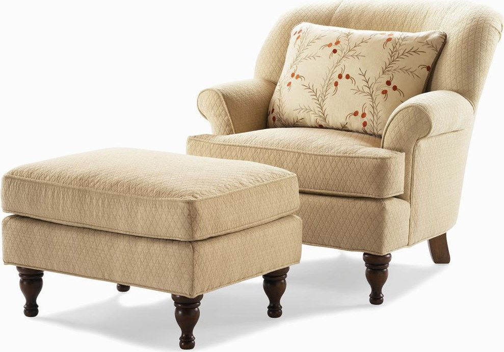 Shown with Matching Ottoman