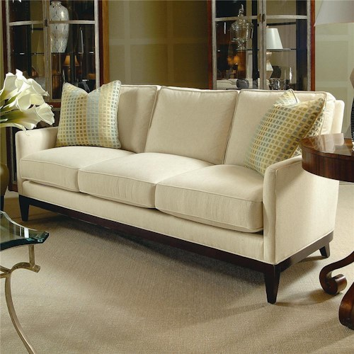 Century Elegance  Sofa with Track Arms