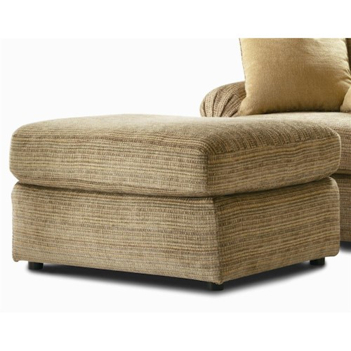 Century Elegance  Upholstered Ottoman