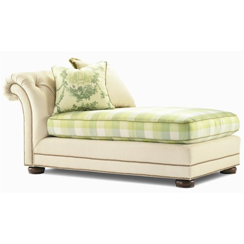 Century Elegance  Upholstered Chair with Button Tuft Back