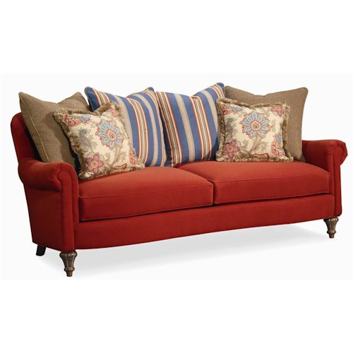 Century Elegance  Multi-Pillow Back Sofa