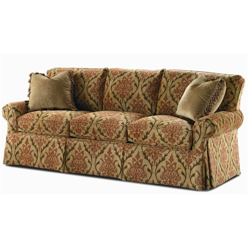 Century Elegance  Three Seat Stationary Sofa