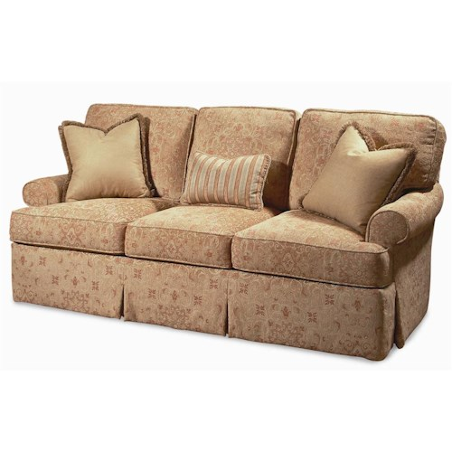Century Elegance  Upholstered Sofa with Rolled Arms