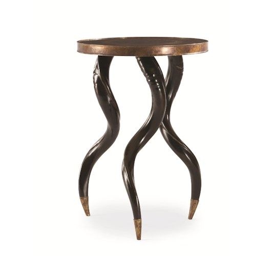 Century Grand Tour Elegant Chairside Table