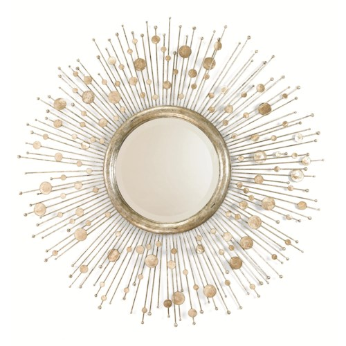 Century Grand Tour Beveled Burst Mirror