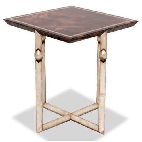 Century Lanna Home Contemporary Square Side Table