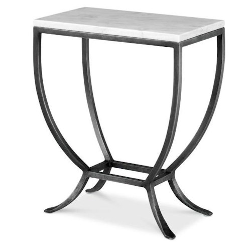 Century Leisure Complements Contemporary Chairside Table