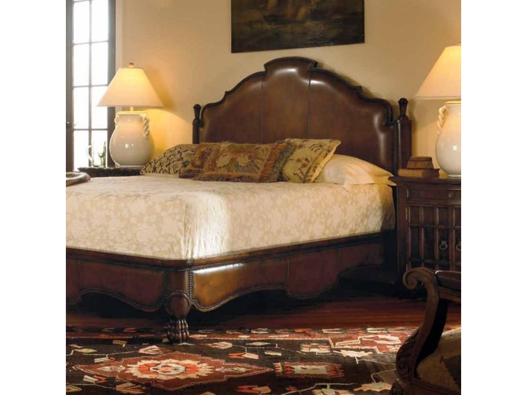 Shown with Decorative Carmelo Drawer and Door Nightstand. Bed Shown May Not Represent Size Indicated.