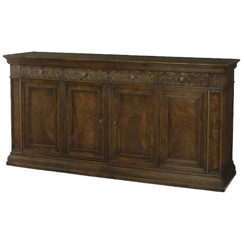 Century Marbella 661 Beautiful Wood Grain Augustin Buffet