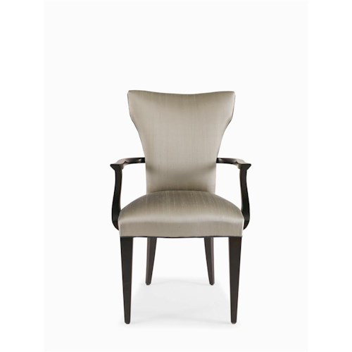 Century Metro Lux Upholstered Dining Arm Chair