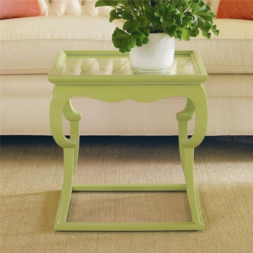 Century Metro Lux Accent End Table