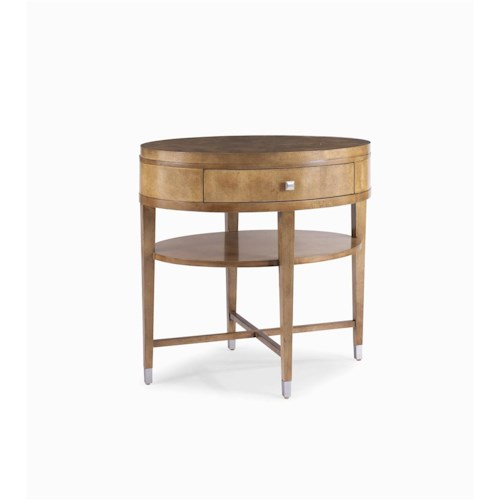 Century Metro Lux Chairside Table