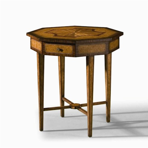 Century Monarch Fine Furniture Hexagonal Accent Table