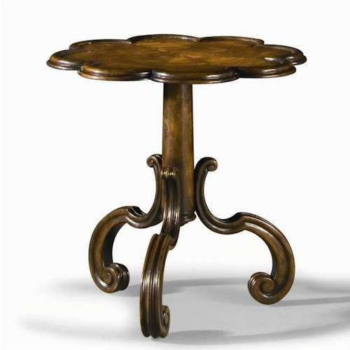 Century Monarch Fine Furniture Tripod Base Court Pie-Crust Table