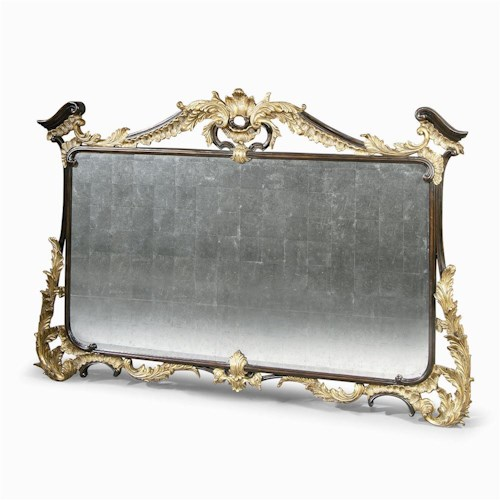 Century Monarch Fine Furniture Tuscan Mirror with Embellished Frame