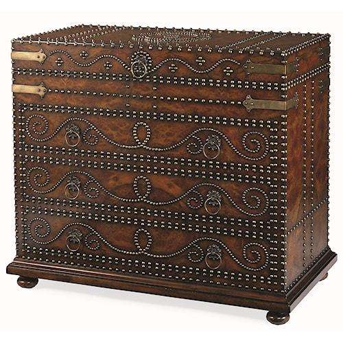 Century Monarch Fine Furniture Elegant Courier's Chest