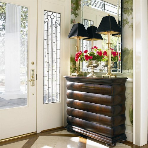 Century New Traditional Rectangular Hall Chest