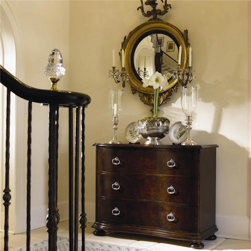 Century New Traditional Chest with Three Drawers