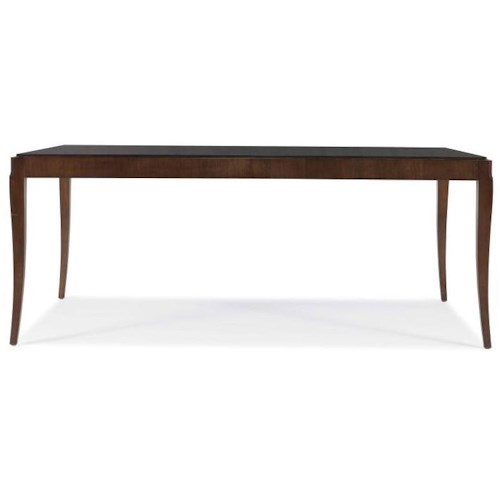 Century Tribeca  Dining Table with Saber Legs