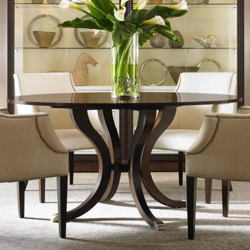 Century Tribeca  Round Dining Table