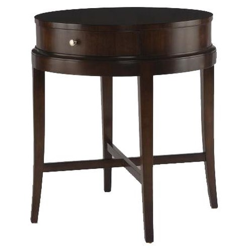 Century Tribeca  Lamp Table with Drawer