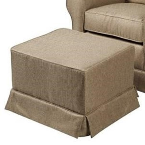 CH Living for Stone & Leigh Gia Gliding Ottoman with Skirt