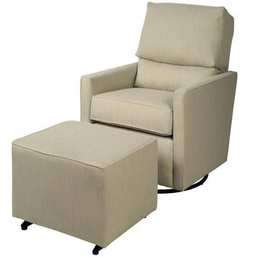 CH Living for Stone & Leigh Kaeden Contemporary Glider and Ottoman