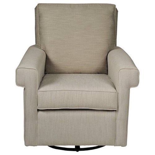 CH Living for Stone & Leigh Zoe Glider with Squared Sock Arms