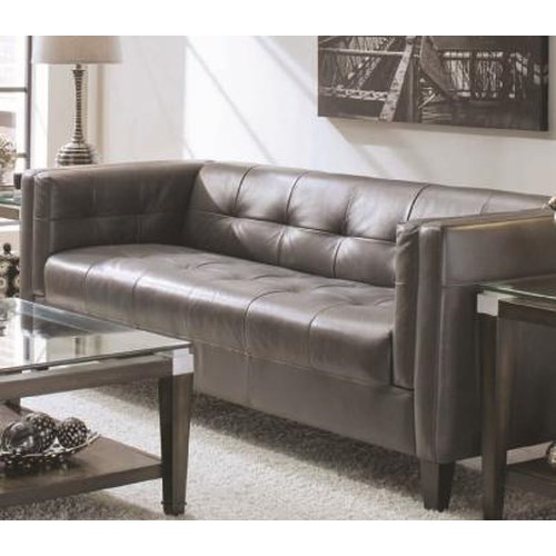 Chateau D'Ax 143 Contemporary Sofa with Tufted Back and Seat