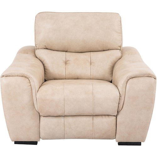 Cheers Sofa 1005 Casual Power Recliner with Line Tufting