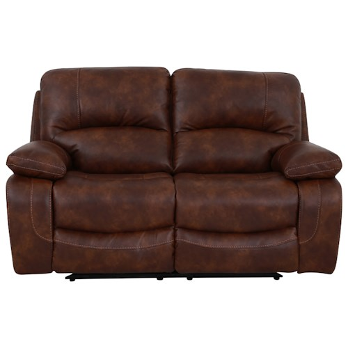 Warehouse M 1010 Power Reclining Loveseat with Pillow Arms