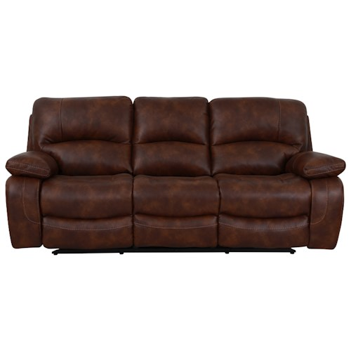Warehouse M 1010 Power Reclining Sofa with Pillow Arms
