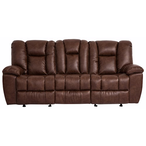 Cheers Sofa 1017M Reclining Sofa with Drop-Down Table