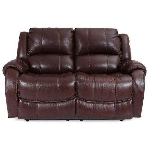 Warehouse M 5171 Power Reclining Loveseat with Power Headrest