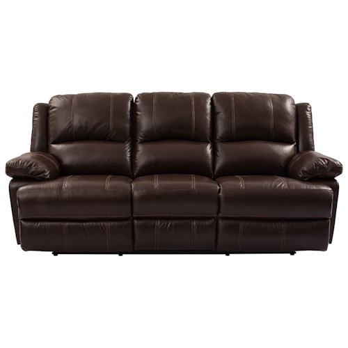 Cheers Sofa 9863 Dual Power Reclining Sofa with Pillow Arms