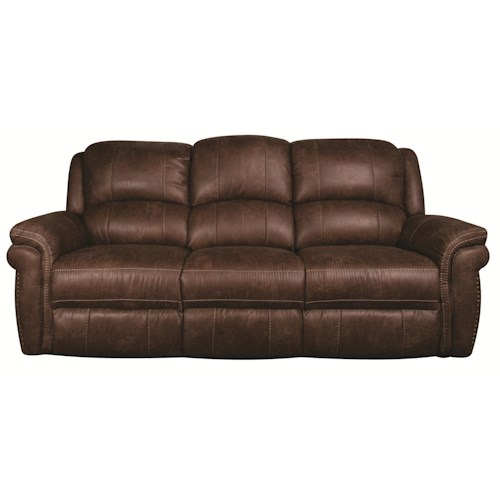 Morris Home Furnishings Beau Power Reclining Sofa